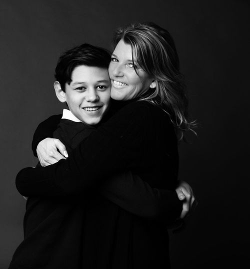 My boy & me ❤ Studio Shot Blackandwhite Black & White ILOVEMYSON Two People Embracing Love Young Women Young Adult Affectionate Togetherness Happiness Lifestyles Real People Looking At Camera Portrait Smiling Bonding Leisure Activity Women Beautiful Woman Night Indoors