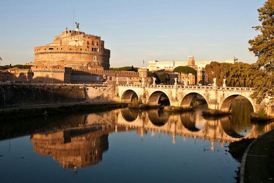 Rome Roma Italy🇮🇹 Italy Italia Saint Angelo Castle Saint Angel Castle Reflection Water Reflections