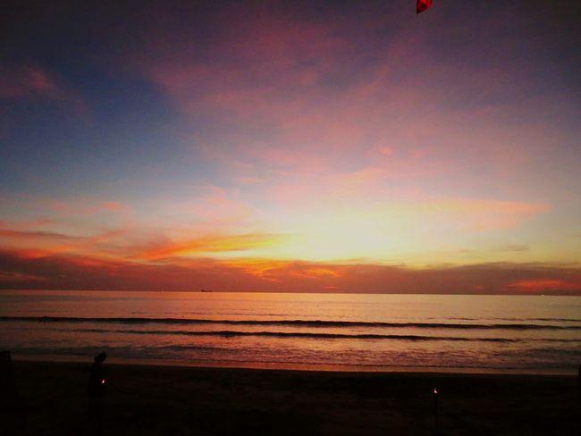cloudy sunset, ko lanta, thailand First Eyeem Photo