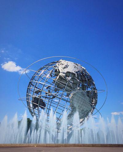 New York City Open Edit Fountains Public Art Unisphere