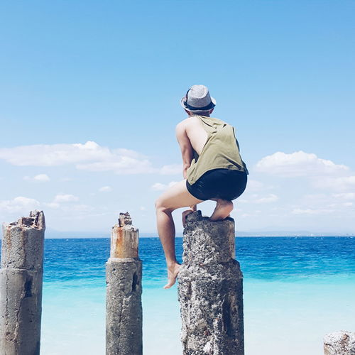 Looking Forward Beach White Beach Philippines Hello World Relaxing Enjoying Life Landscape Summer Travelling Nature Mensfashion Davao