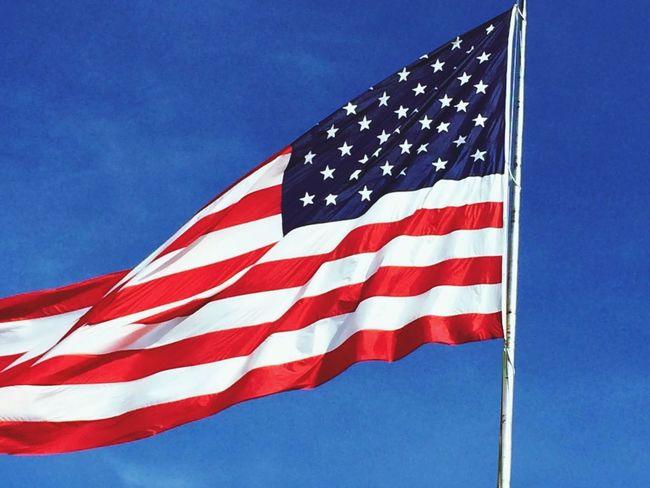 Supernormal American Flag Hope Capturing Freedom