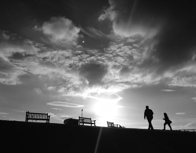 Blackandwhite Bw_collection Gimme The Light Sunset Silhouettes
