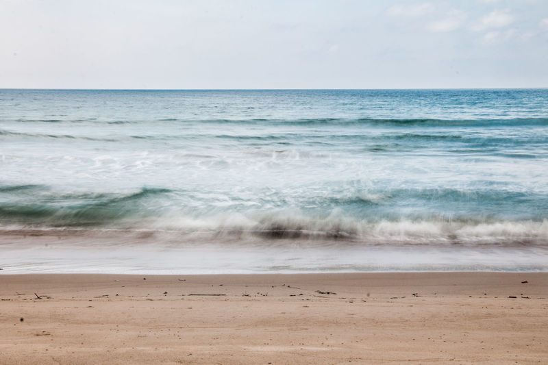 life's a beach Isolated Beach Beauty In Nature Blue Horizon Horizon Over Water Motion Nature No People Outdoors Scenics - Nature Sea Simplicity Tranquil Scene Tranquility Water Wave The Great Outdoors - 2018 EyeEm Awards