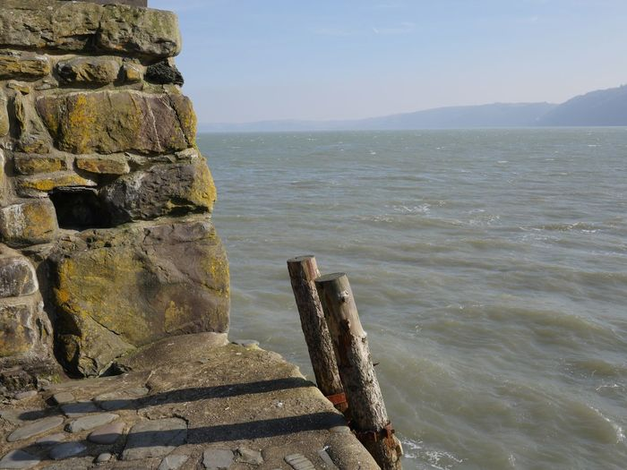 Harbour entrance Sea Water Sky Nature Beauty In Nature Scenics - Nature Tranquility Tranquil Scene Horizon No People Horizon Over Water Outdoors