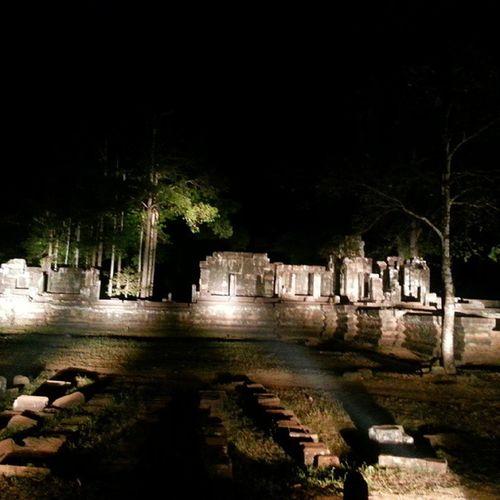 Ruins within the Angkor Thom Complex. Nightscene Angkorwat Unescoworldheritagesite Unesco UNWTO Wanderkat Heritagelife