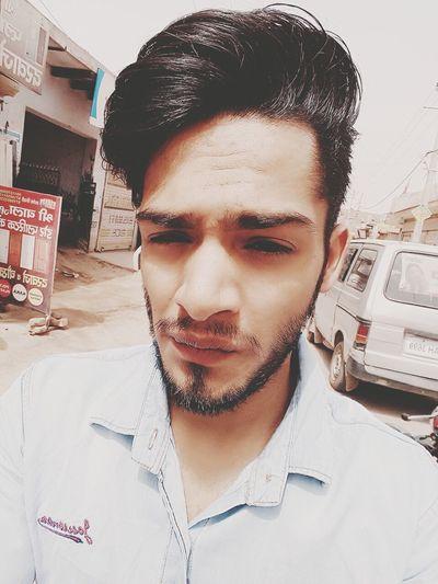 Young Adult Beard Looking At Camera Love ♥