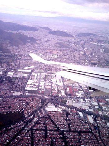 Aerial View Ciudad De México Mexico DF Mexico City Sobrevolando Volando Voy... Landscape City Cityscape Avion British Airways Stunning Views