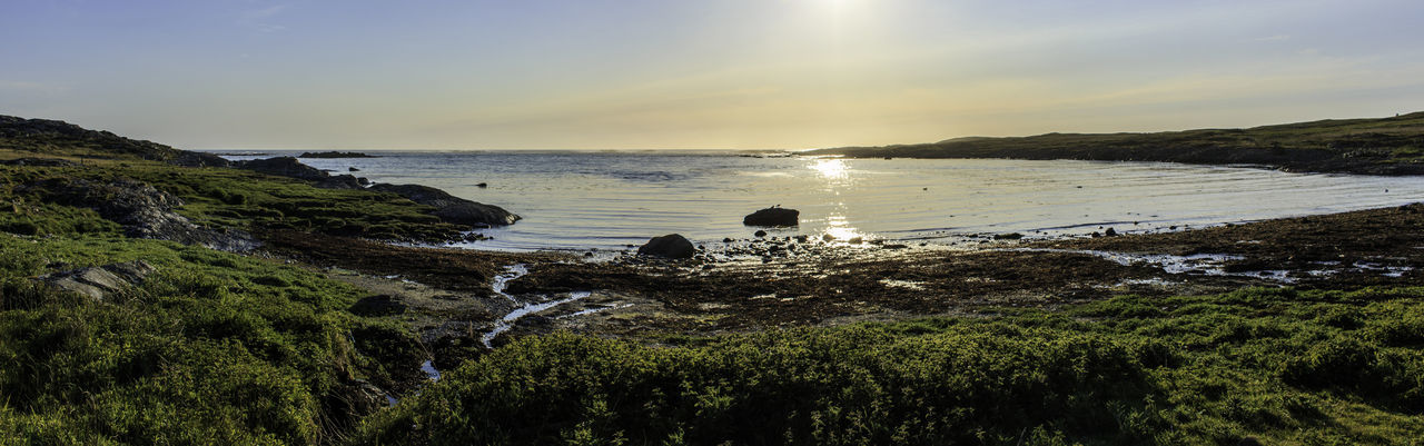 Just chilling and waiting for the sunset at Port Mhor on Colonsay Beauty In Nature Coastline Colonsay Non Urban Scene Outdoors Port Mhor Remote Scotland Sea Tranquil Scene Water ıslands