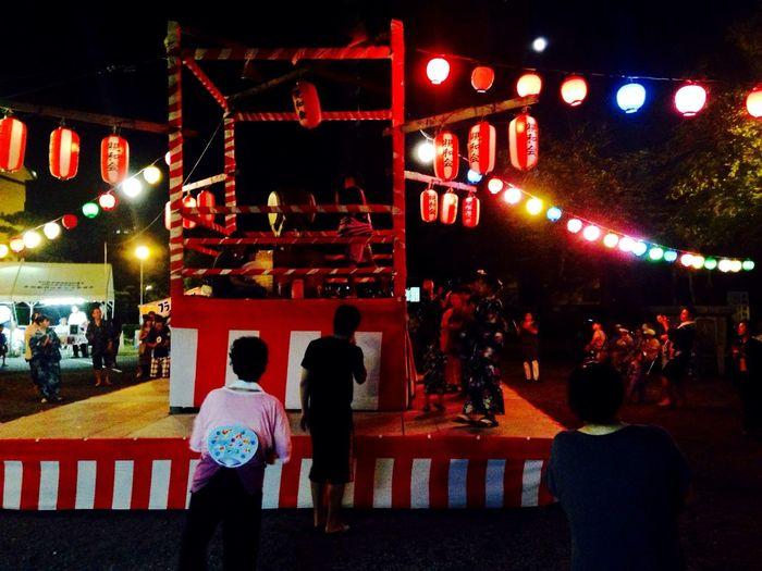 Enjoying Life 盆踊り Japanese Festival Summer