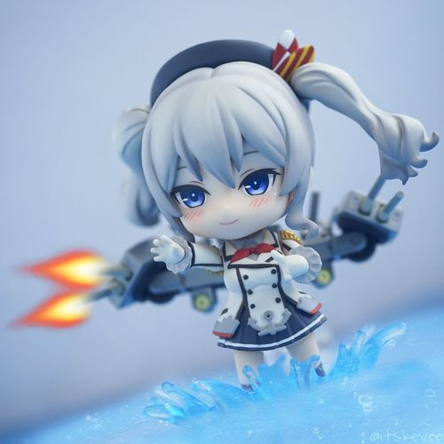 Kashima: All main guns, FIRE! Kashima Sea Toy Close-up Indoors  Nendoroid Photograph Toyphotography Figurine  Anime Kancolle Kantaicollection Girl Action Edit