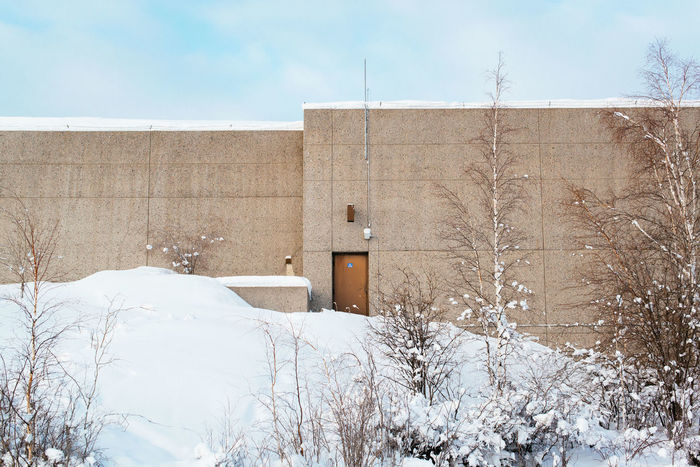 Architecture Building Exterior Built Structure Day Landscape Minimal Minimalism Minimalist Minimalobsession Nature Northern Canada Outdoors Snow Winter Yellowknife