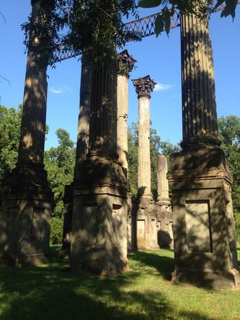 Traveling Mississippi  Natchez Windsor Ruins