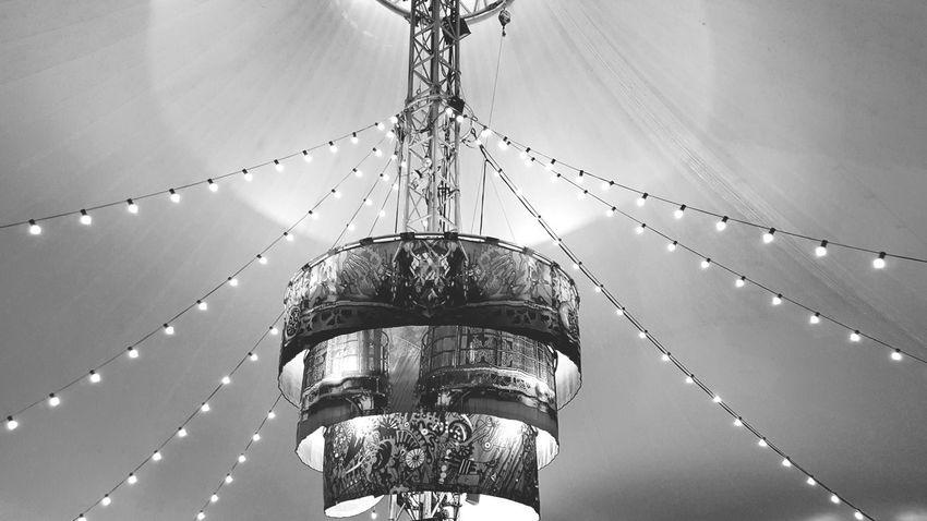 Lights Adorn Ceiling Lights Black & White Light Painting
