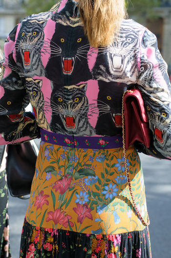 Fashion Animal Face Animal Print Casual Clothing Clothing Fashion Photography Floral Pattern Lifestyles Multi Colored Outdoors Panther Style And Fashion