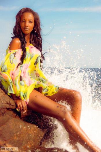 Photography Model Ocean Divine Beauty