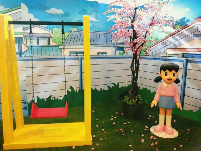 Sizhuka Doraemon100expo Doraemon Exhibition The Puzzle Doraemon And Friend 3D Has Complete Now