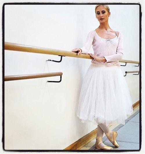 Gaia Straccamore, Etoile of the Opera theatre in Rome, Italy. 📷 in 2014.