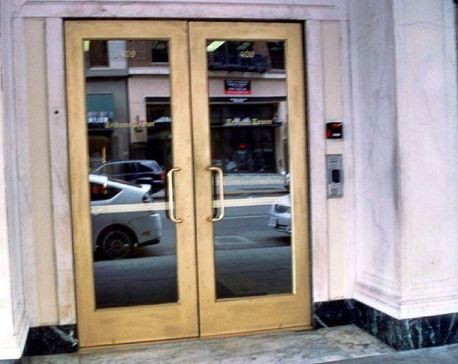 Oakland Tribune Tower Entrance Doors