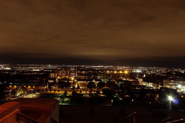 #City #light #montreal #Night #pointofview #Quebec #SaintJoseph #view