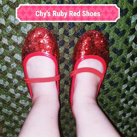 Ruby Red Shoes Shoes Red One Person One Young Woman Only Dorthey Shoes