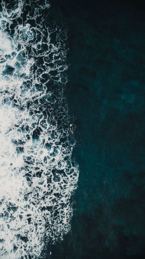 middle Sea Water Motion Sport Aquatic Sport Nature Wave Beauty In Nature Day Outdoors High Angle View Backgrounds Blue Turquoise Colored Ocean Ocean View Drone  Dronephotography Surf Surfing Beach EyeEmNewHere EyeEm Best Shots EyeEm Nature Lover EyeEm Gallery