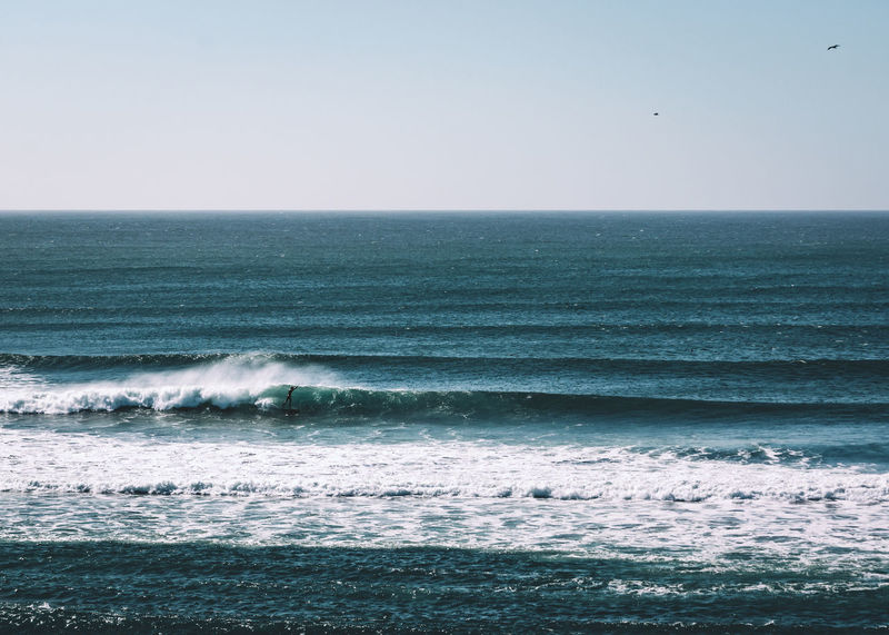 Surf vibes in Pichilemu, Chile. Latin America Nature Pipeline Surf Surfer Travel Wave Beach Break Day Horizon Over Water Moody Motion Ocean Outdoors Sand Scenics Sea South America Sun Surfing Travel Destinations Water Waterfront White Water