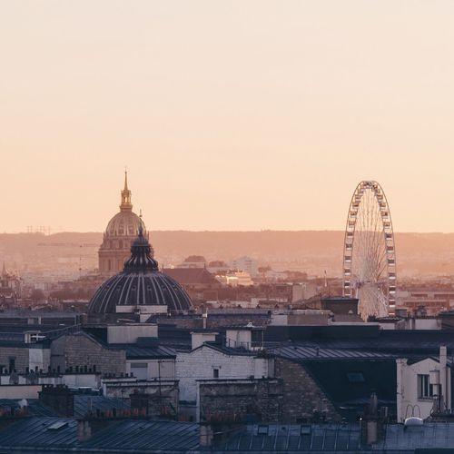 Rooftop Roof Christmastime EyeEmBestPics Shootermag Paris Sunset