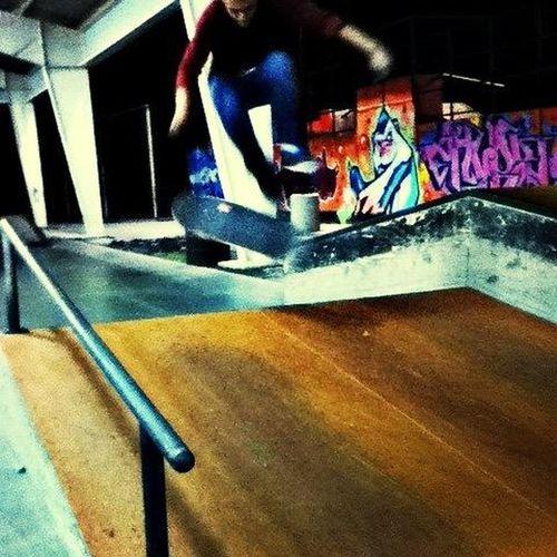 Today just skating at my local Skatepark