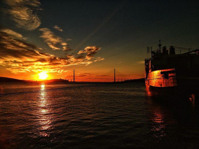 Vladivostok, Gold Bridge ice breaker, Icebreaker First Eyeem Photo