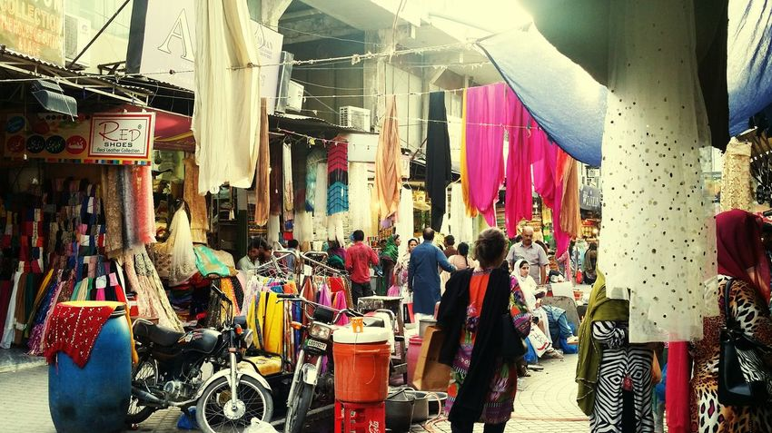Lahore Market Bazaar