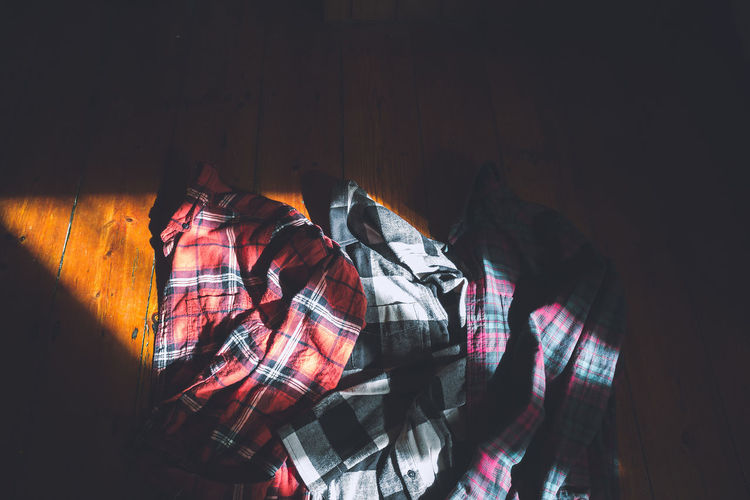 Autumn ready! Autumn Colors Fashion Fashion Photo Sunlight Clothing Day Fashion Photography Flannel Flannel Shirt Flannels Indoors  No People Sun Rays Sunlight And Shadow