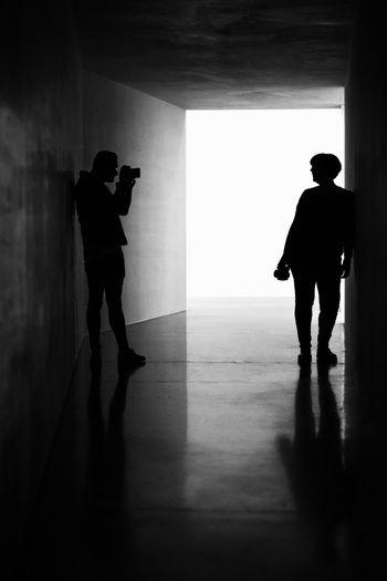 Blackandwhite Black And White Photographers Full Length Men Shadow Silhouette Standing Focus On Shadow Human Representation