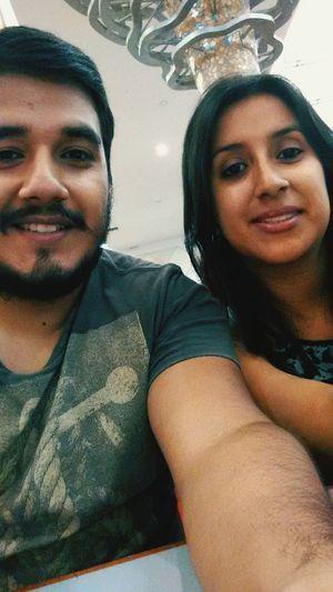 With my sister Selfienation Selfie Hello World It's Me Cheese! Faces Of EyeEm Selfieoftheday Enjoying Life Selfie Time