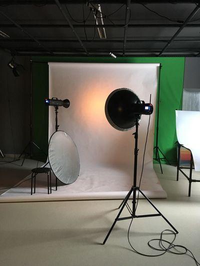 Tilt image of lighting equipment at home
