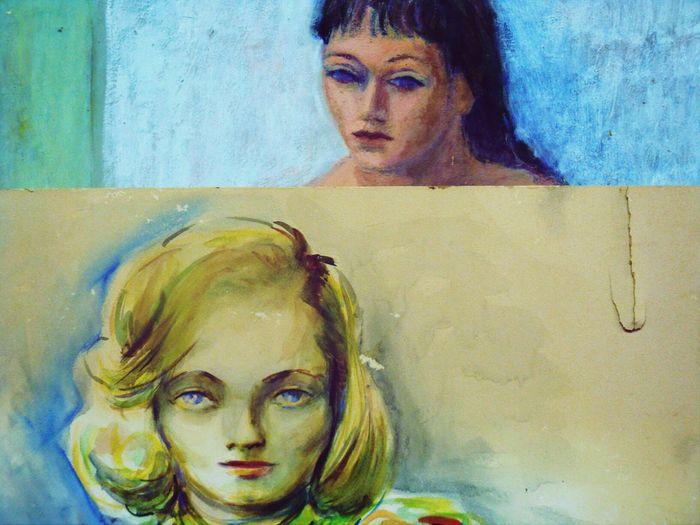 Blue-eyed Women