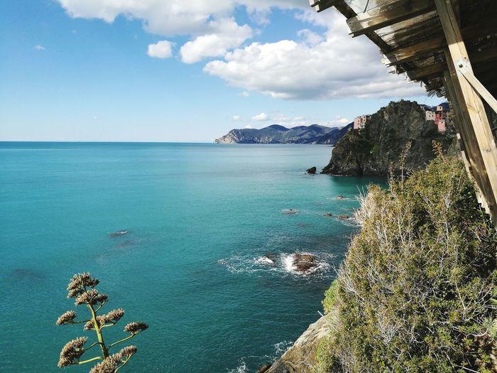 #beautynatur Nature Beauty Sea Water Beach Tree Tourist Resort Sand Sky Horizon Over Water Cloud - Sky