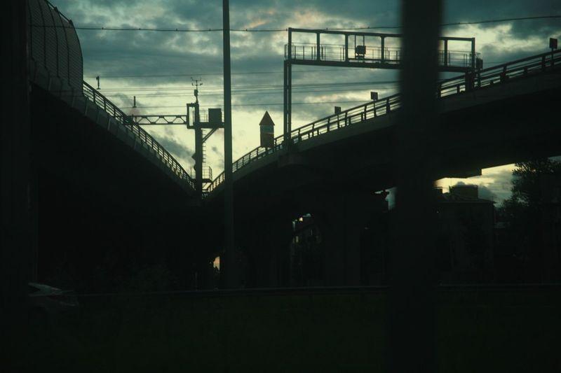 Built Structure Architecture Sky Transportation Building Exterior Bridge HUAWEI Photo Award: After Dark