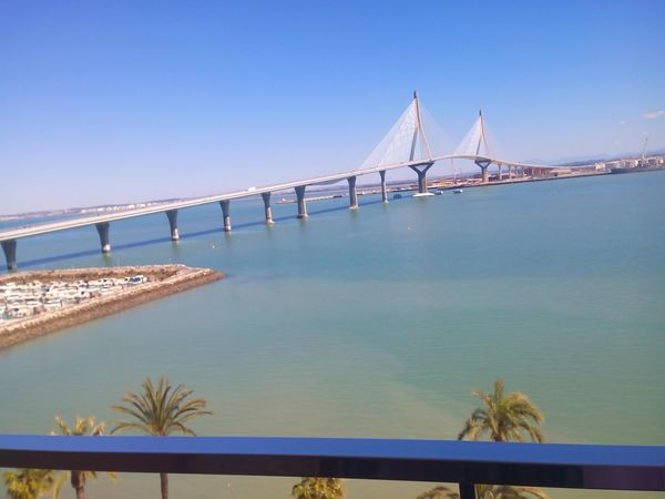 Sea Bridge Andalucía Cadiz SPAIN Cadizturismo Cadizfornia Today ☺ Sunny Day Puente Día Soleado Sea View Seaside Sea And Sky