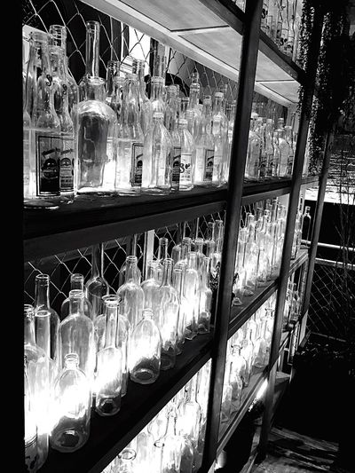 Bottles Light And Shadow Empty Saporem Madrid