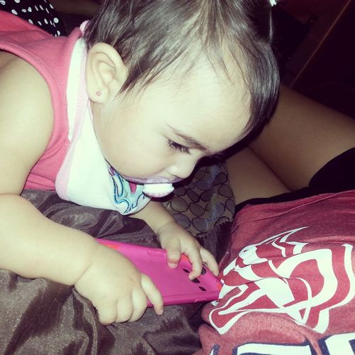 Taking care of my baby ♡ My Beautiful Niece  Lexie :) Cute Baby Baby Sitting