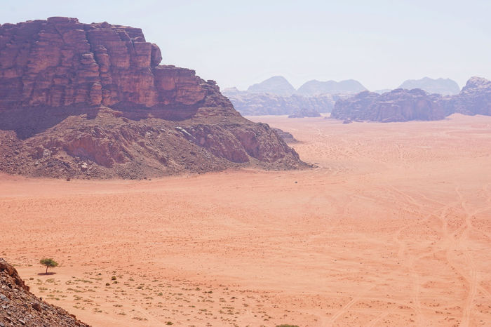 Jedi Wadi Rum Arid Climate Beauty In Nature Clear Sky Day Desert Geology Landscape Marsions Mountain Nature No People Outdoors Physical Geography Rock - Object Rock Formation Rogue One Rogue One Star Wars Sand Scenics Sky Tranquil Scene Tranquility
