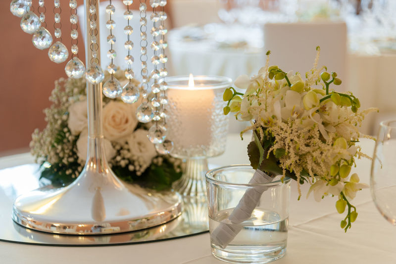 Bouquet Candle Celebration Centerpiece Close-up Day Elégance Flower Fragility Freshness Indoors  Life Events No People Plate Table Vase Wedding Wedding Cake Wedding Ceremony