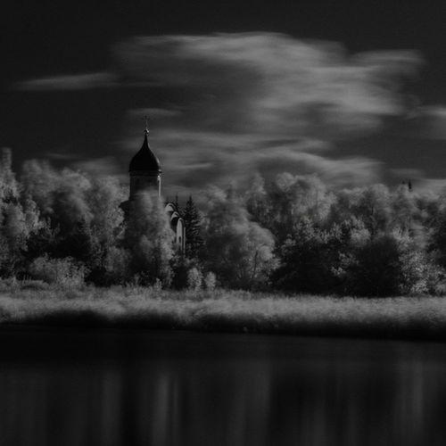 Омск инфракрасный I Unnatural city Openomsk Infrared