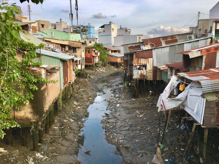 Stream Amidst Slums