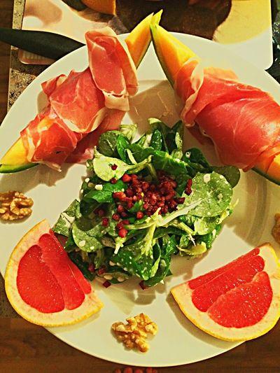 Salad Enjoying