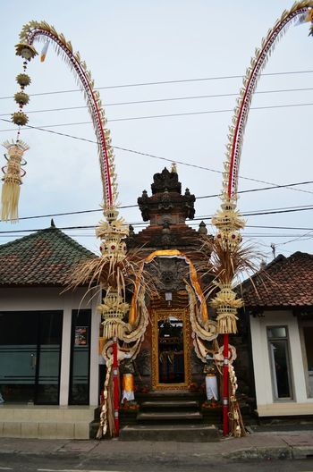 One of the many Balinese temples thr are scattered across the island Bali Temple INDONESIA Village Backpacking