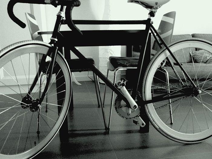 Fix  Fixed Bike My Bike Monochrome Shades Of Grey Interior Views