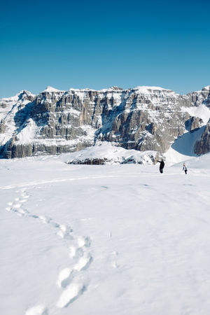 Madonna di Campiglio Snow Walk Snow ❄ Wandering Wintertime Alps Beauty In Nature Blue Sky Clear Sky Cold Temperature Landscape Mountain Mountain Range Nature Outdoors Scenics Ski Snow Snow Covered Snowcapped Snowcapped Mountain Tracks In The Snow Tranquil Scene Tranquility White Color Winter