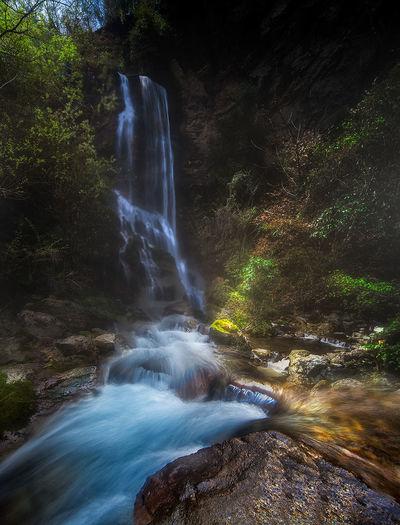 溪流 Beauty In Nature Flowing Water Forest Nature No People Outdoors Sky Tree Water Waterfall 旅游 湖北 神农架